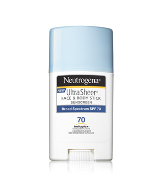 Neutrogena Ultra Sheer Face And Body Stick Sunscreen SPF 70